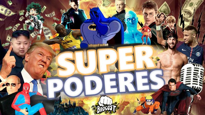 Qual o melhor superpoder? Tentamos responder essa pergunta no Brocast #8