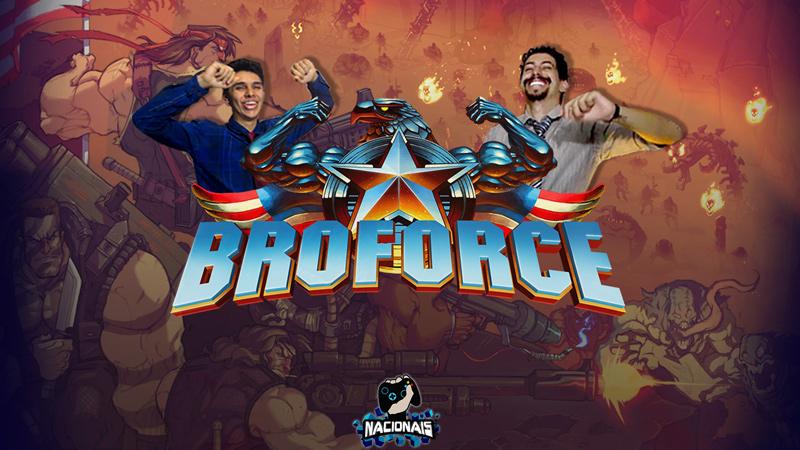 Explodimos tudo no nosso gameplay de Broforce com quatro jogadores! Confira