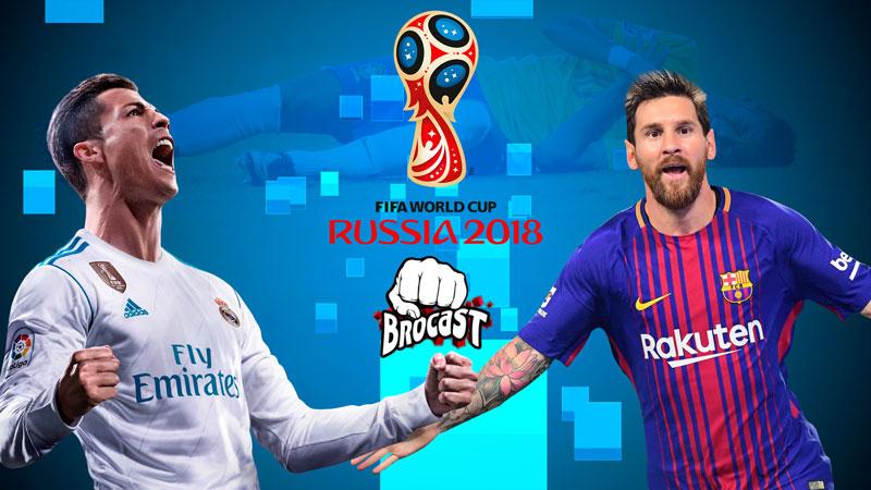 Em clima de Copa do Mundo 2018, falamos sobre FIFA, PES e Football Manager no Brocast #17