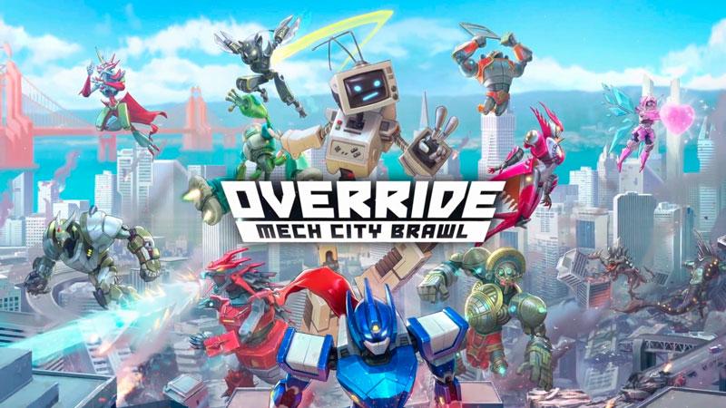 Override: Mech City Brawl é o jogo brasileiro de pancadaria com robôs