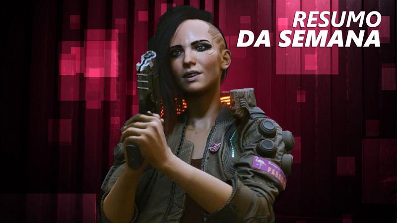 Gameplay de Cyberpunk 2077 e a despedida de Clementine são os destaques do Jornal Nacionais