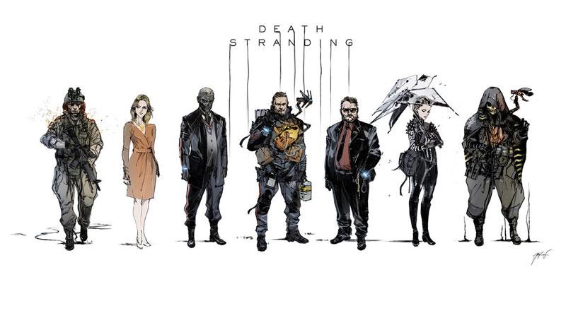 Novo trailer de Death Stranding mostra que o game é uma confusão cheia de atores famosos