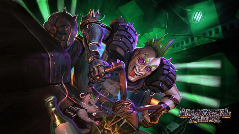 Heavy Metal Machines mistura Rocket League com MOBA, e é grátis   Jogo Brasileiro