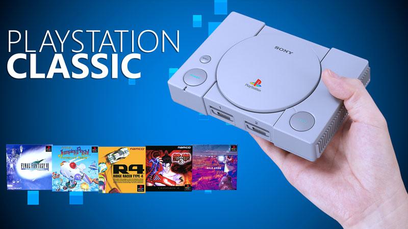 Conheça o PlayStation Classic, console que revive o PS1 e vem com 20 jogos