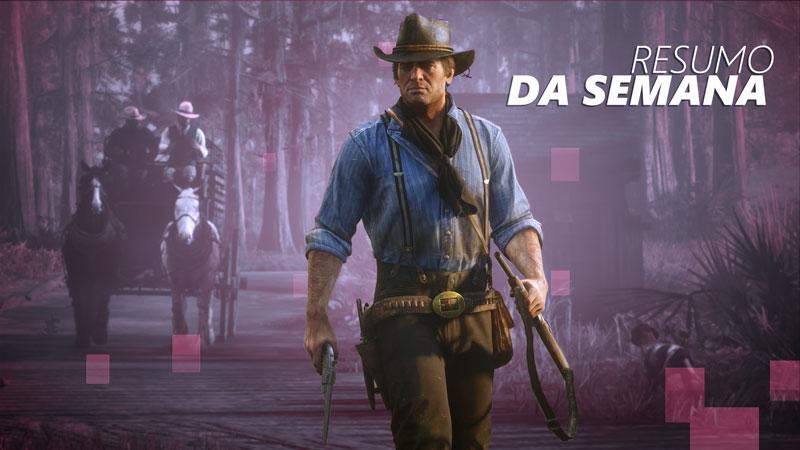 O retorno de The Walking Dead e as novidades de Red Dead 2 são os destaques do Jornal Nacionais