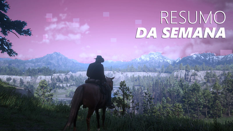 Saiba tudo sobre a chegada de Red Dead Redemption 2 e outras notícias no Jornal Nacionais