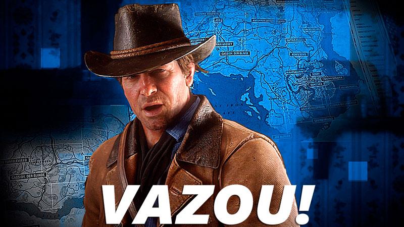 Mapa e gameplay de Red Dead Redemption 2 vazam três dias antes do lançamento