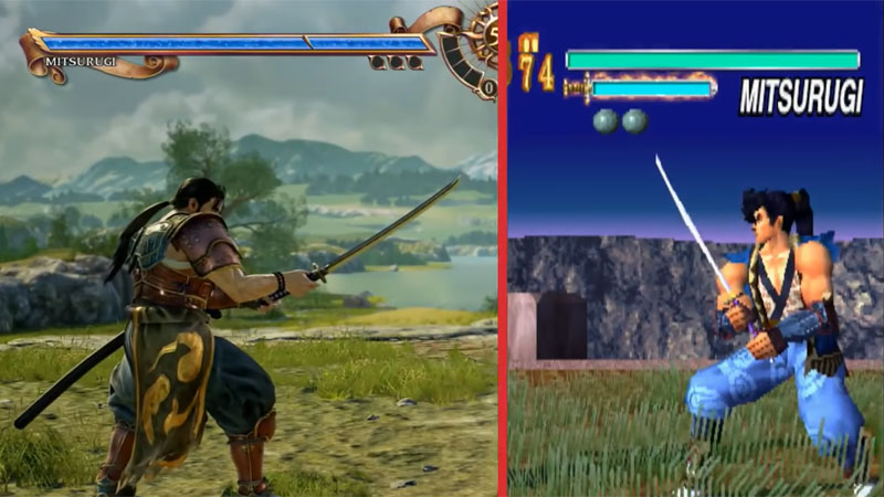 Comparativo de Soul Calibur 6 com Soul Blade mostra como os games evoluíram em 20 anos