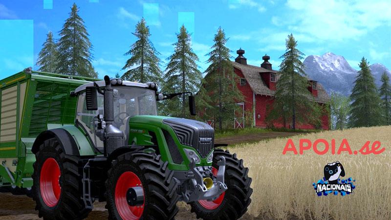 Vamos sortear Farming Simulator 2019, Chroma Squad e The Forbidden Arts no Apoia.se