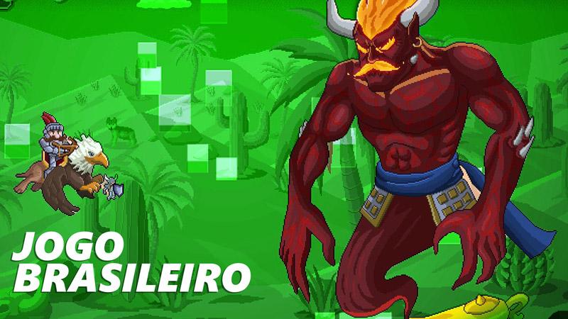 Cuphead brasileiro? Conheça Gryphon Knight Epic, o jogo shoot 'em up da Cyber Rhino Studios