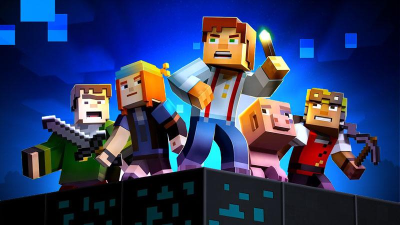 Minecraft Story Mode, o último trabalho da Telltale, já está disponível na Netflix