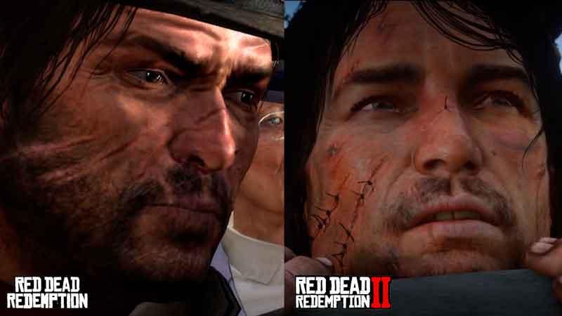 Vídeo compara gráficos de Red Dead Redemption 2 com os do primeiro jogo