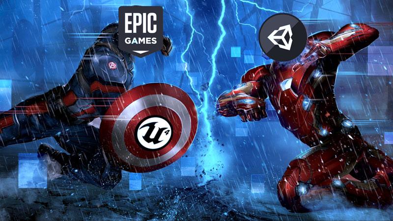 """Epic Games se envolve em treta que pode começar """"guerra civil"""" entre Unity e Unreal Engine 4"""