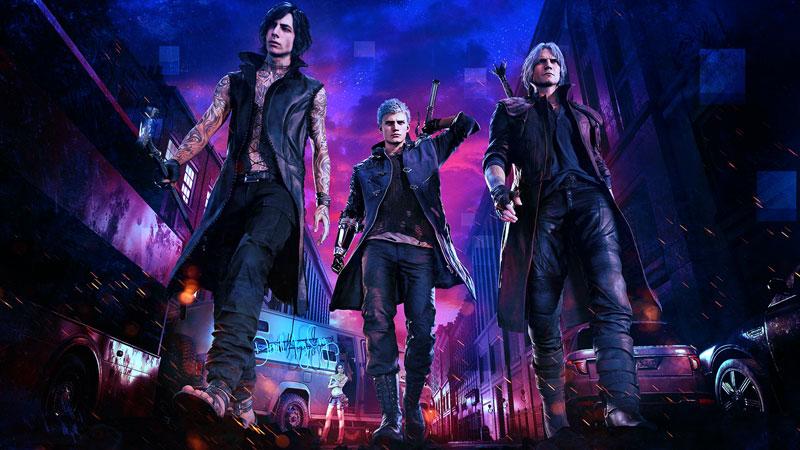 Devil May Cry 5 ganha primeiro DLC gratuito, o Palácio Sangrento