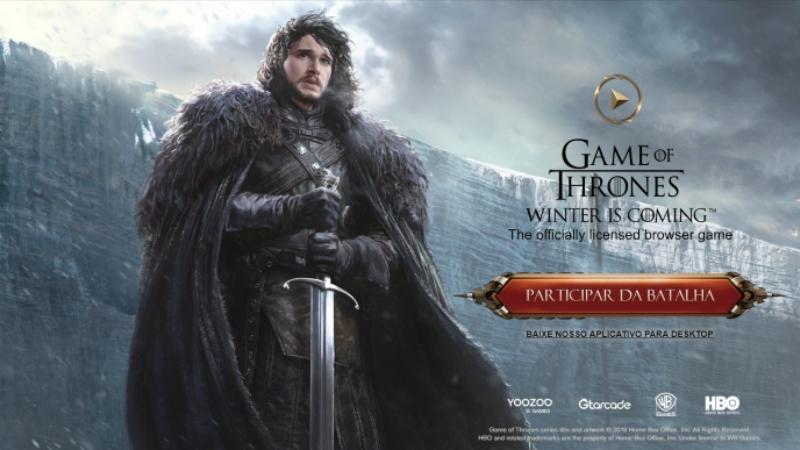 O jogo de Game of Thrones de navegador é bom? Eu joguei e te conto