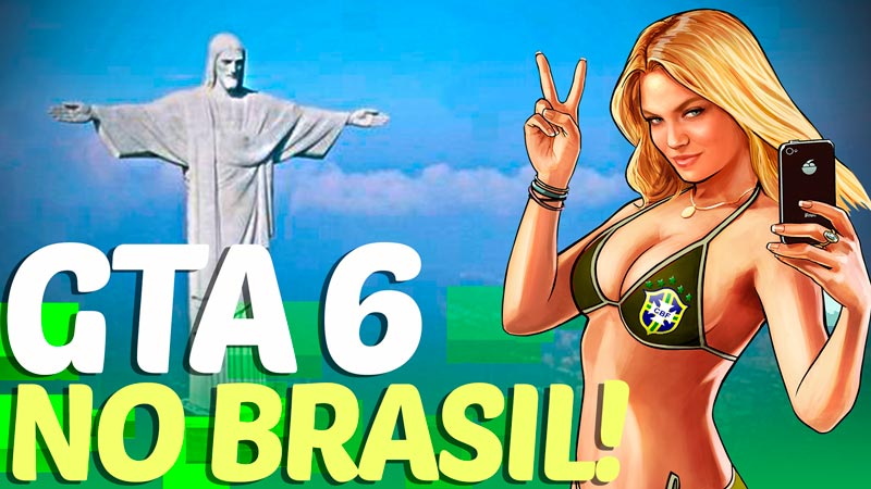 GTA VI (6) deve se passar NO BRASIL! Veja o que diz o vazamento no Reddit