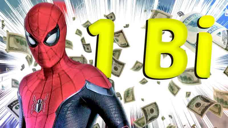 O jogo virou! Homem Aranha passou 1 bilhão e deve ganhar continuação