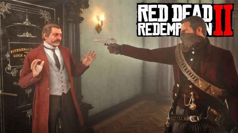 Mod de Red Dead Redemption 2 permite que você roube bancos