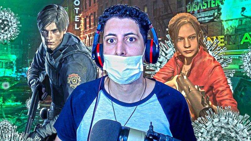 Live de quarentena! Jogando a demo de Resident Evil 3