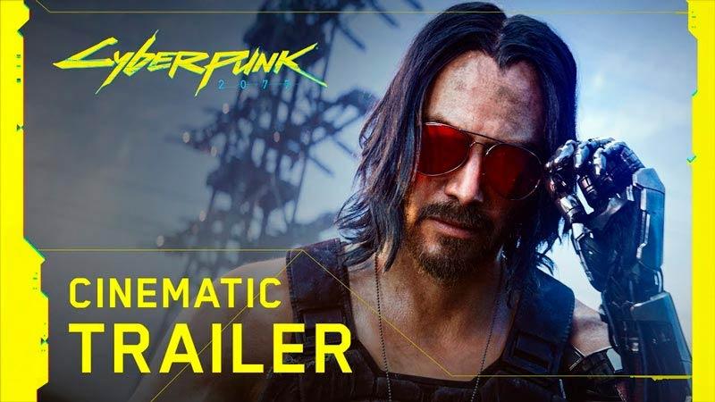 Keanu Reeves e suas aparições em Cyberpunk 2077