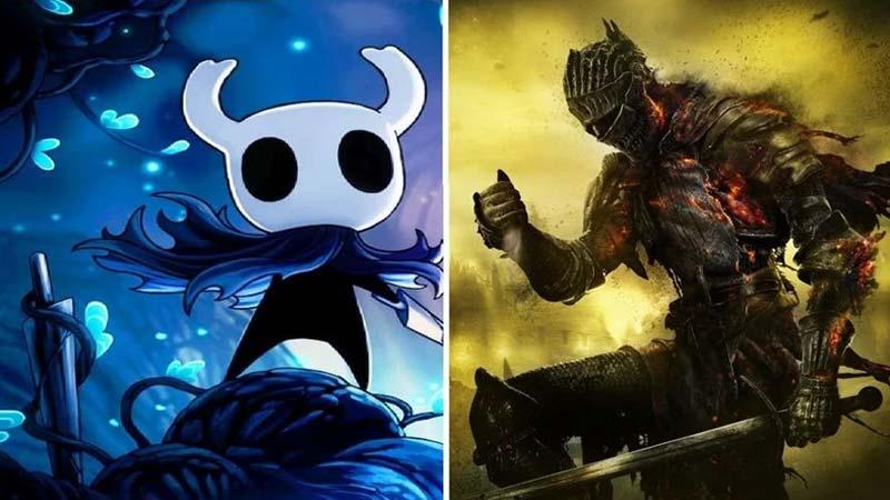 Artistas combinam Dark Souls e Hollow Knight: veja o resultado