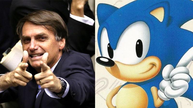 Vídeo do governo Bolsonaro utiliza música do Sonic para mostrar andamento de obras