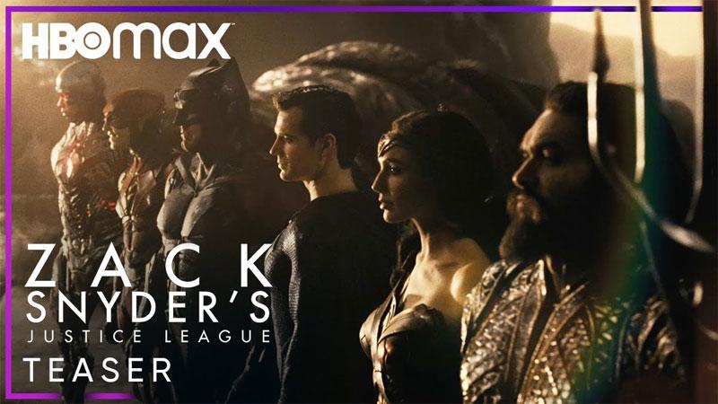 Liga da Justiça de Zack Snyder tem trailer revelado durante a DC FanDome; assista