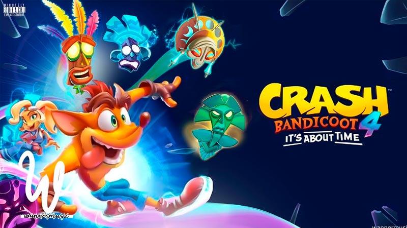Demo de Crash Bandicoot 4: It's About Time já pode ser baixada a partir de hoje por quem comprou na pré-venda