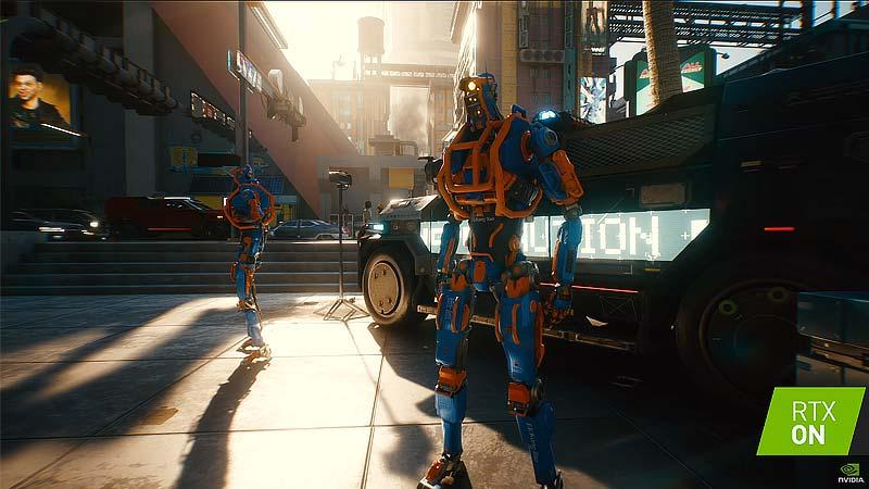 Veja Cyberpunk 2077 rodando nas novas placas de vídeo da Nvidia