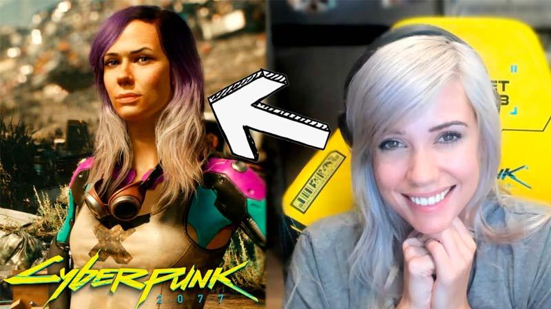 Streamer Alanah Pearce está em Cyberpunk 2077