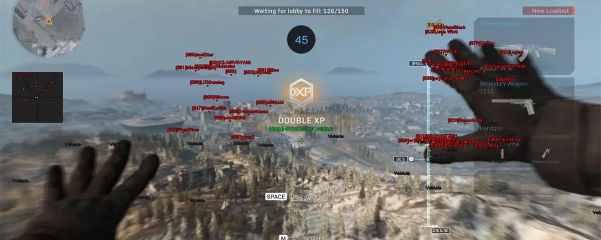 COD Warzone tem agora mais de 500 mil jogadores banidos