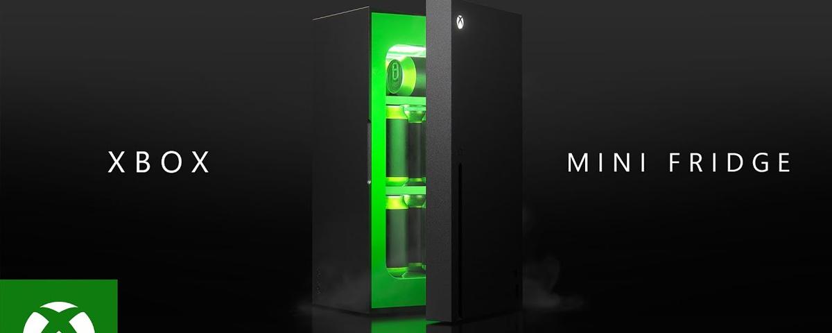 Mini-geladeira Xbox terá lançamento nas festas de fim de ano, diz Microsoft