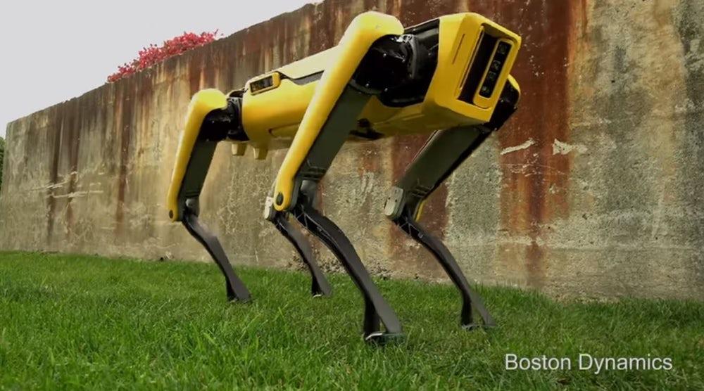Boston Dynamics: Cão robô aprende como replanejar rotas