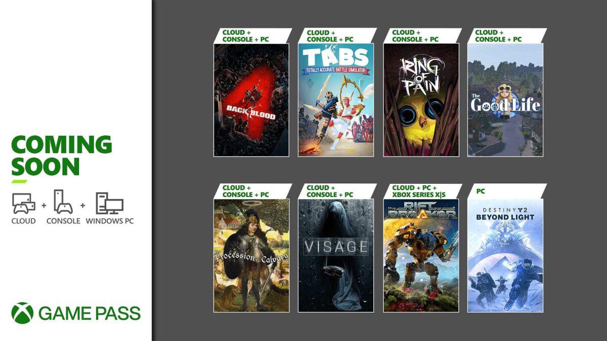 Confira os jogos chegando ao Xbox Game Pass em outubro de 2021